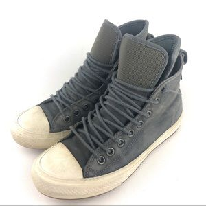 Converse Chuck Taylor Nubuck Boot Gray Unisex Size